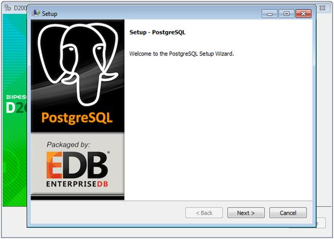 Support of PostgreSQL in D2000 System - D2000 V11